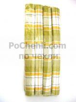 Подложки за хранене + платнени салфетки, цветно каре