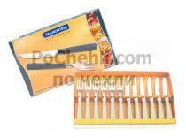 Прибори за хранене с бежови дръжки, 12 части, New Kolor Tramontina  6685 - Pochehli