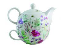 Комплект за чай за един човек In Bloom, David Mason Design