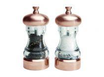 Mелнички за сол и пипер Mercury медни, David Mason Design