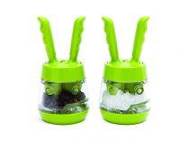 Мелнички за сол и пипер Mini Pod зелени, David Mason Design