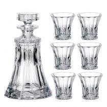 Комплект за уиски Wellington, 7 части, Crystalite Bohemia