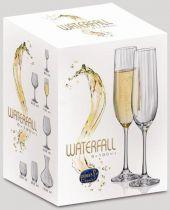 Bohemia Waterfall чаши за шампанско 7759 - Pochehli