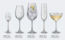 Чаши за шампанско Waterfall 190 мл, Crystalex Bohemia 5339 - Pochehli