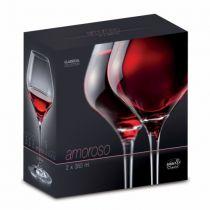 Чаши за червено вино Amoroso 350 мл, Crystalex Bohemia 7476 - Pochehli