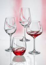 Bohemia Turbulence чаши за червено вино 6279 - Pochehli