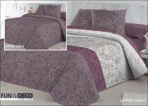 Шалте за спалня LARISA malva, двустранно, Antilo Textil Испания