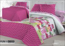 Шалте за спалня LISBET, двустранно, Antilo Textil Испания