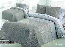 Шалте за спалня Lewis beig, двустранно, Antilo Textil Испания