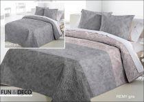 Шалте за спалня Remi gris, двустранно, Antilo Textil Испания
