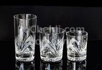 Кристални чаши, полски рязан кристал Рамона 7934 - Pochehli