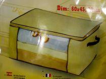 Калъф за съхранение на дрехи с цип 60 * 45 * 30 см 7178 - Pochehli