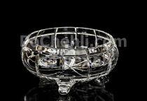 Кристална купа кръгла 21 см 7036 - Pochehli