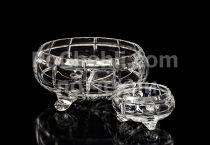 Кристална купа кръгла 21 см 6807 - Pochehli