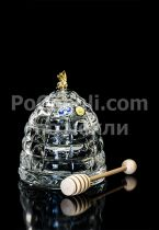 Кристален съд за мед Пчела, Bohemia 6370 - Pochehli