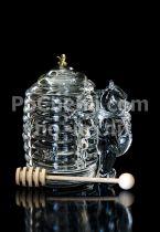 Кристален буркан за мед Мечо Пух 7347 - Pochehli