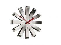 Стенен часовник инокс UMBRA RIBBON