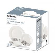 Sabichi порцеланов сервиз за хранене Глухарче 6560 - Pochehli