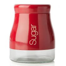Буркан за захар в червено Sabichi