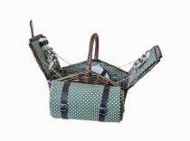 Ратанова кошница за пикник с одеяло 5351 - Pochehli