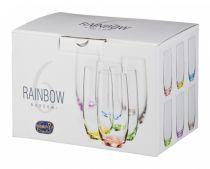 Bohemia Rainbow чаши за вода 5439 - Pochehli