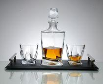 Сервиз за уиски BOHEMIA QUADRO 6028 - Pochehli