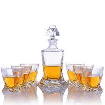 "Комплект за уиски ""Куадро"", Crystalite Bohemia 6911 - Pochehli"