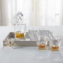 "Комплект за уиски ""Куадро"", Crystalite Bohemia 7050 - Pochehli"