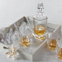 "Комплект за уиски ""Куадро"", Crystalite Bohemia 9500 - Pochehli"