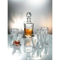 "Комплект за уиски ""Куадро"", Crystalite Bohemia 7747 - Pochehli"