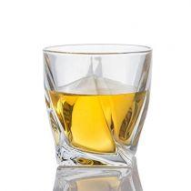 Чаши за уиски Куадро, 6 бр., 340 мл, Crystalite Bohemia 6000 - Pochehli