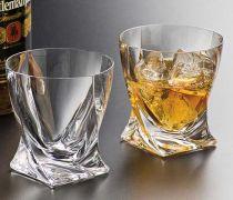 Чаши за уиски Куадро, 6 бр., 340 мл, Crystalite Bohemia 10396 - Pochehli