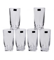 Чаши за вода Quadro Bohemia 5972 - Pochehli